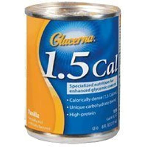 Glucerna 1.5 Cal Snack Shake Can,Vanilla Flavor, Model: 53534 - 8 Oz/Can, 24/Case by Abbot Laboratories