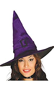 Guirca Sombrero de Bruja Lila