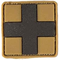 Patch 3d First Aid PVC M. Velcro Small, color Marrón, tamaño small