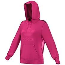 TREFOIL LOGO HOODIE eqt pink 16/17 Adidas Originals 40 eqt pink