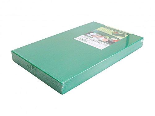 PE-Kunststoff-Schneidebrett GN 1/2 in grün 50 mm stark HACCP-Konzept Gastronorm Schneidebrett Profi-Schneidbrett Kunststoff-Schneidbrett Schneideunterlage