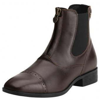 ARIAT Damen Reitstiefelette CHALLENGE SQUARE TOE Zip PADDOCK (mit Reißverschluß vorne), chocolate (braun), 4.5 (37.5) (Square Toe ' Ariat)