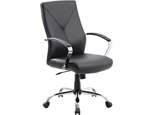 rosewill-rffc-14003-black-leatherplus-modern-euro-design-ergonomic-executive-chair