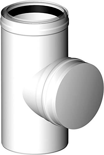 Almeva PPH/PPH LIK - Revisions T-Stück RLU Betriebsweise DN 80/125 Abgas konzentrisch