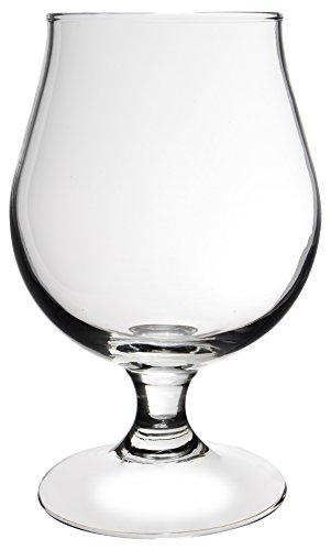 Novastyl 8013509 Bruges Lot de 2 Verres à Bière Verre Transparent 20,3 x 10,3 x 16 cm