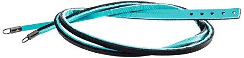 Trollbeads Damen-Armband 925 Silber Leder 45 cm - TLEBR-00048 (Riesen-kurze Leder)