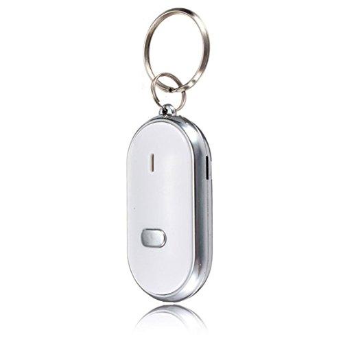 TOOGOO(R) 3PZS Buscador de llave silbato de llave encontrada inteligente llavero- Gadget para cabezas de aire de sonido
