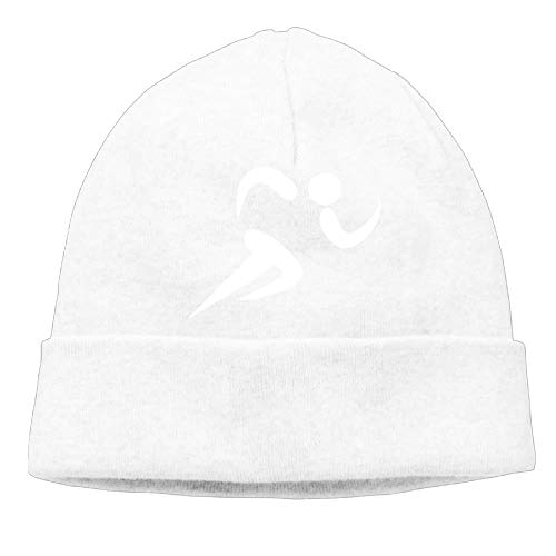 Momens Track and Field Casual Style Hip-Hop Black Beanies Watch Cap Cotton Track Bandana
