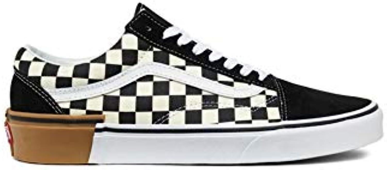 eca4b581665743 Vans Old Skool (Gum Block) Checkerboard Checkerboard Checkerboard  nero-bianca 8g1u58 (36