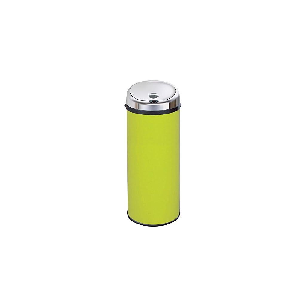 Inmotion 50L Lime Green Automatic Sensor Kitchen Bin