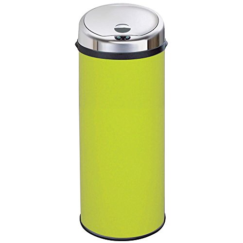 Inmotion 50L Lime Green Automatic Sensor Kitchen Bin