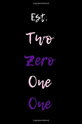 Est. Two Zero One One: Military Sorority Blank Lined Journal, for your Soror, Friend, Family, Veteran, Spouse or Line Sisters (The Journal Of Sisters Two)