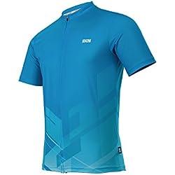 IXS Jersey Satisfar - Prenda, color azul, talla s