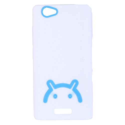 iCandy Soft TPU Back Cover For Gionee Marathon M2 - White  available at amazon for Rs.119