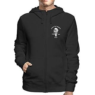 Sweatshirt Hoodie Zip Black T0819 ARDITI DEL POPOLO Militari