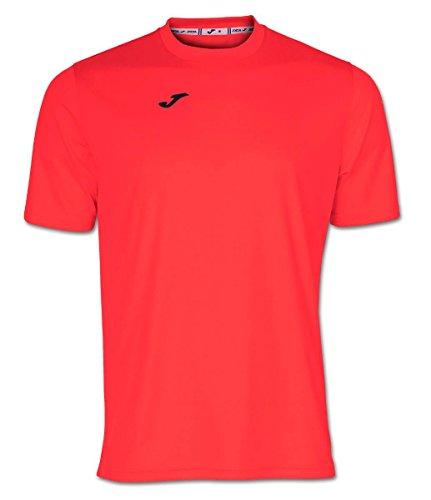 Joma COMBI Basic T-Shirt Corallo Fluo