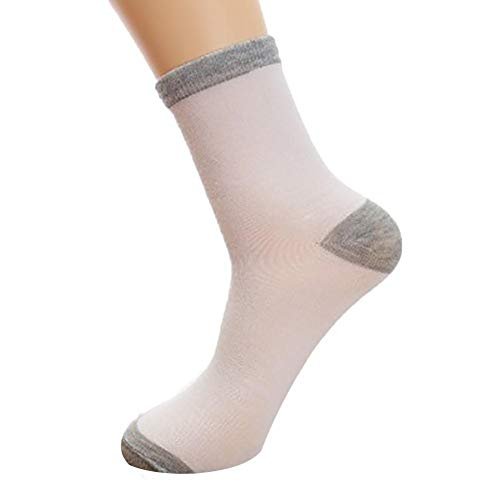 MOIKA Herren Sportsocken 43-46 Unisex Cute Retro Streifen Mode Männer Socken Bequeme Socken