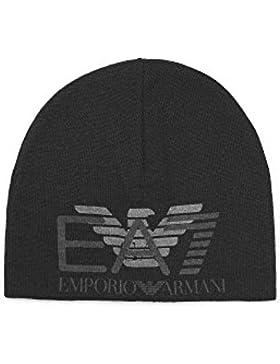 a611e4f73db Emporio Armani EA7 cuffia berretto uomo nuova originale train eagle blu