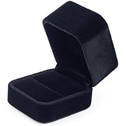 prima dragón cuadrados de altura - aprobó una caja del anillo del terciopelo / gif Hibbert - Negro