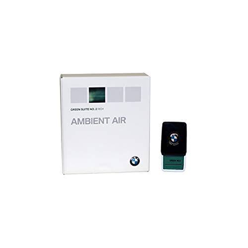 BMW, deodorante Ambient Air originale, Green Suite n. 2, profumo, profumatore con presa, deodorante per BMW 5er G3x / 7er G1x