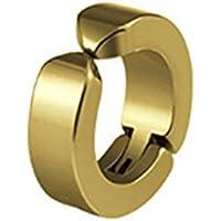 fced95b39329 Xuxuou 1PC Pendiente de Hombre Pendientes de Acero de Titanio para Hombres Par  Pendientes Oro