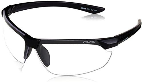 ALPINA Sonnenbrille Amition DRAFF Outdoorsport-brille Black Matt, One Size