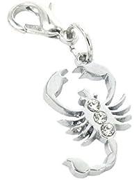Charm Skorpion aus Stahl by Charming Charms. Versandkostenfrei ab 30 Euro