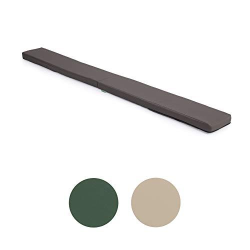 Gardenista® Picknick-Sitzkissen für den Außenbereich, Grau, 2 Stück