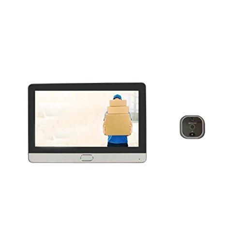 Spioncino Porta digitale Wi-Fi a schermo touch e interfono...