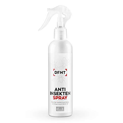 DFNT Insektenspray | 250ml Insektenschutz mit Langzeitwirkung | Insektenvernichter Spray | Geruchloses & Biologisch Abbaubares Ungeziefer Spray