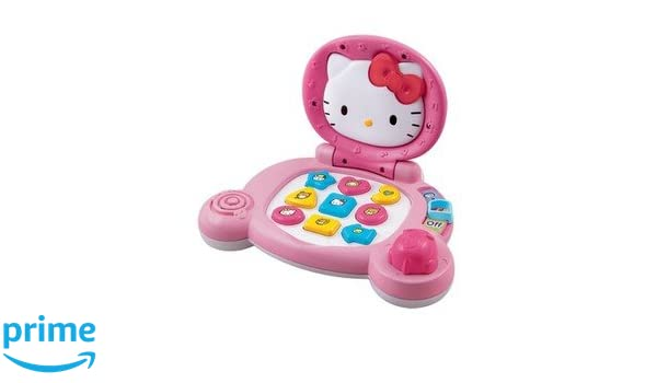 f623634dd Buy Vtech Hello Kitty Laptop, Multi Color Online at Low Prices in India -  Amazon.in