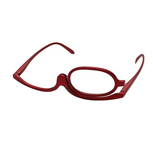 Gafas para maquillaje rojas 2