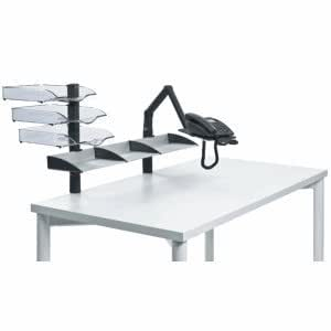novus ablagesystem mit telefonschwenkarm business board. Black Bedroom Furniture Sets. Home Design Ideas