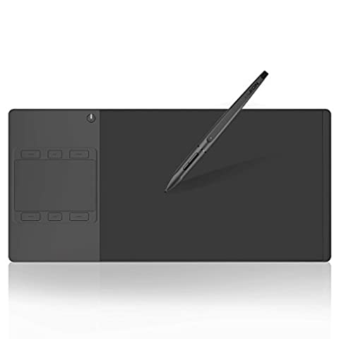 Huion INSPIROY Pen and Touch Kabellos Grafiktablet with Ultra-Narrow Border G10T
