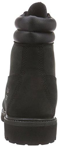 Timberland 6 in Boot Black Nb, Scarpe a Collo Alto Uomo Nero