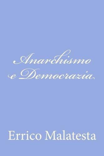 Anarchismo E Democrazia pdf
