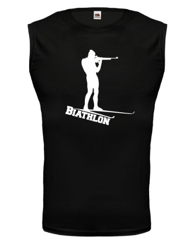 buXsbaum® Tank Top Biathlon Black-White