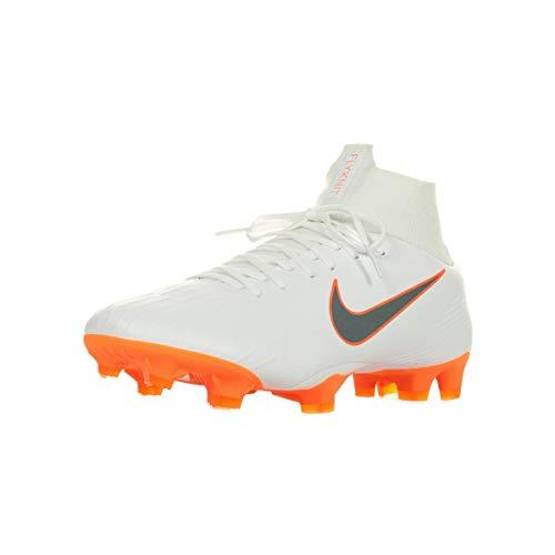 Nike Herren Vapor 12 Academy Ic Fußballschuhe,Weiß (weiß weiß),41 EU -