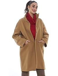 Amazon.it  cappotto cammello - 48   Donna  Abbigliamento dc8e97d0ead
