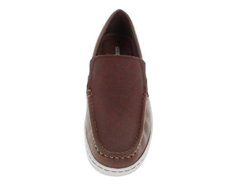 Sebago Herren 's Barnet Slip auf Loafer & slip-ons Schuh Dark Brown/Waxy Leather