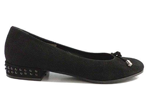 scarpe donna GUIDO SGARIGLIA 36 EU ballerine nero camoscio AY112
