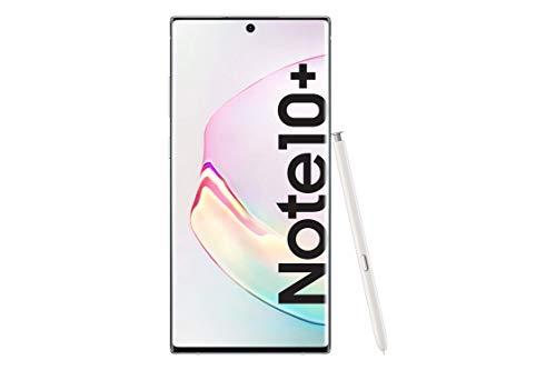 Samsung Galaxy Note10+ SM-N975F - Smartphone (Dual SIM, 12 GB RAM, 256 GB Memoria, 10 MP Dual Pixel AF) Blanco (White)