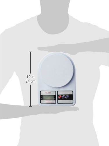 Generic-Electronic-Kitchen-Digital-Weighing-Scale-Multipurpose-White-10-Kg