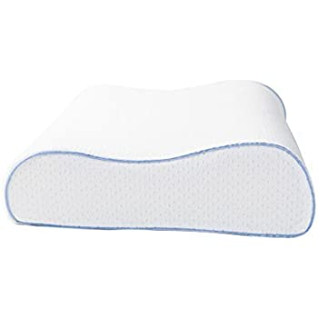 Aeris Memory Foam Contour Pillow Queen Size High