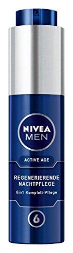 Nivea Men Active Age Regenerierende Nachtpflege Gesichtspflege, 1er Pack (1 x 50 ml)