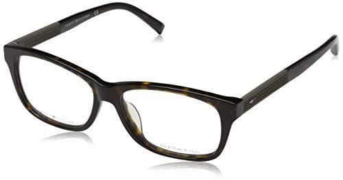 Tommy Hilfiger Unisex-Erwachsene 762753558688 Brillengestelle, Braun, 54