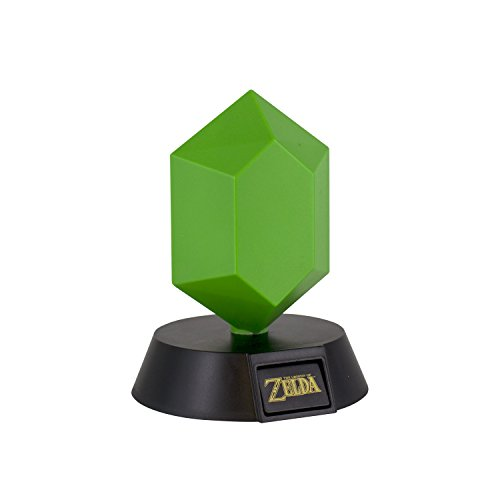 ZELDA - Green Rupee 3D Mini Light - 10cm : P.Derive