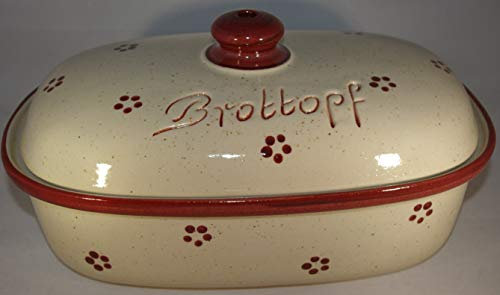 Brottopf BROTTOPF OVAL 33 CM RUBIN 1670-30