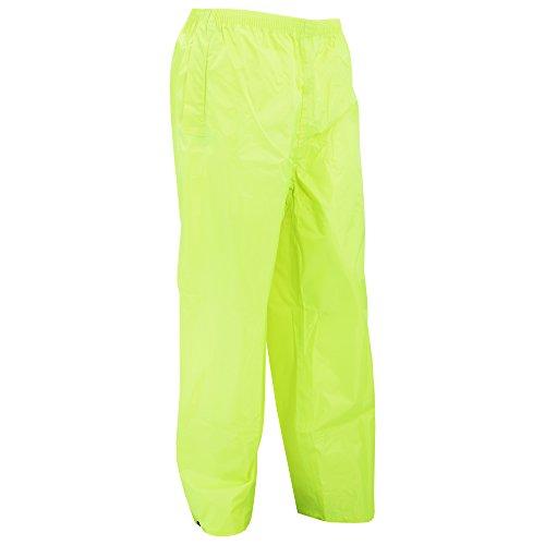 Portwest klassische Regenhose für Erwachsene, normale Passform, Size XX-Large, gelb, 1 Schwarz