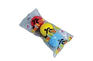 Simba - Pelotas de Tenis, Color Rojo, Amarillo y Azul (107354316)